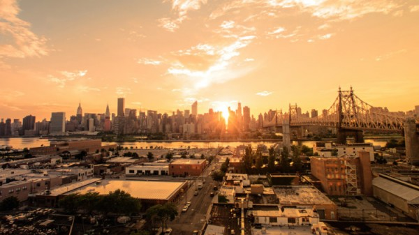 View from Long Island City, Queens, NY