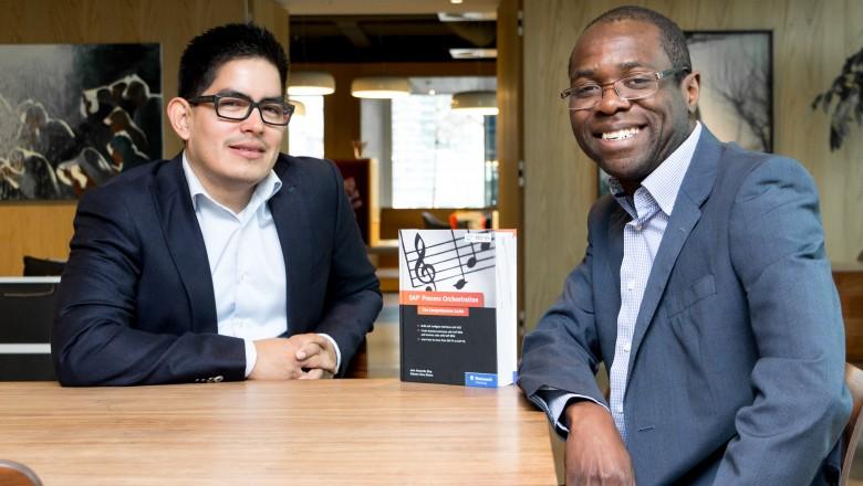 Roberto and John, Rojo Consultancy, Spaces Zuidas