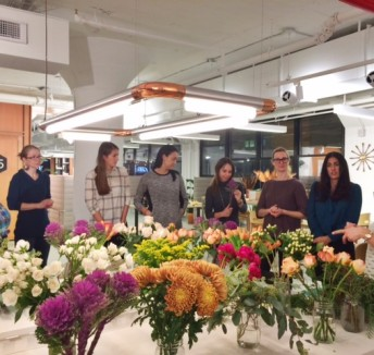 Floral Design at Spaces LIC