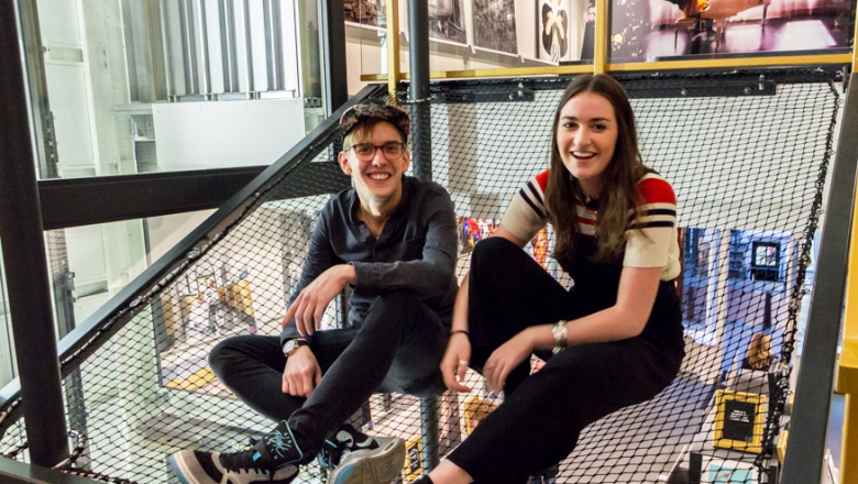 Simon Iseringhausen and Charlotte Zajicek of Public House of Art