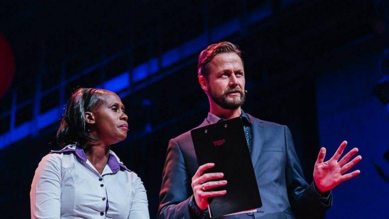 Peninah Nthenya Musyimi and Jim Stolze, TEDxAmsterdam 2014