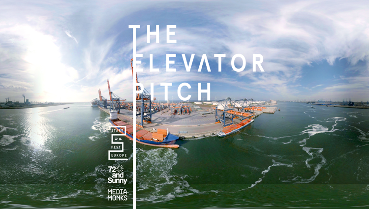 Startup Fest Europe's VR Campaign. The Elevator Pitch