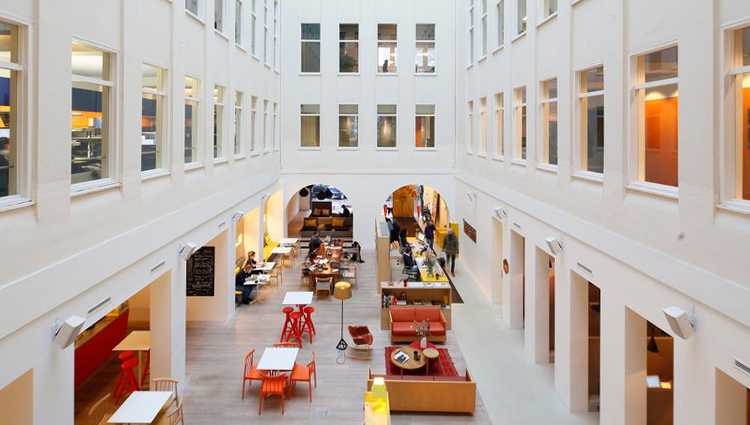 Herengracht amsterdam coworking offices