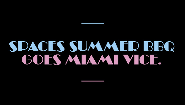 Miami Vice Summer Party