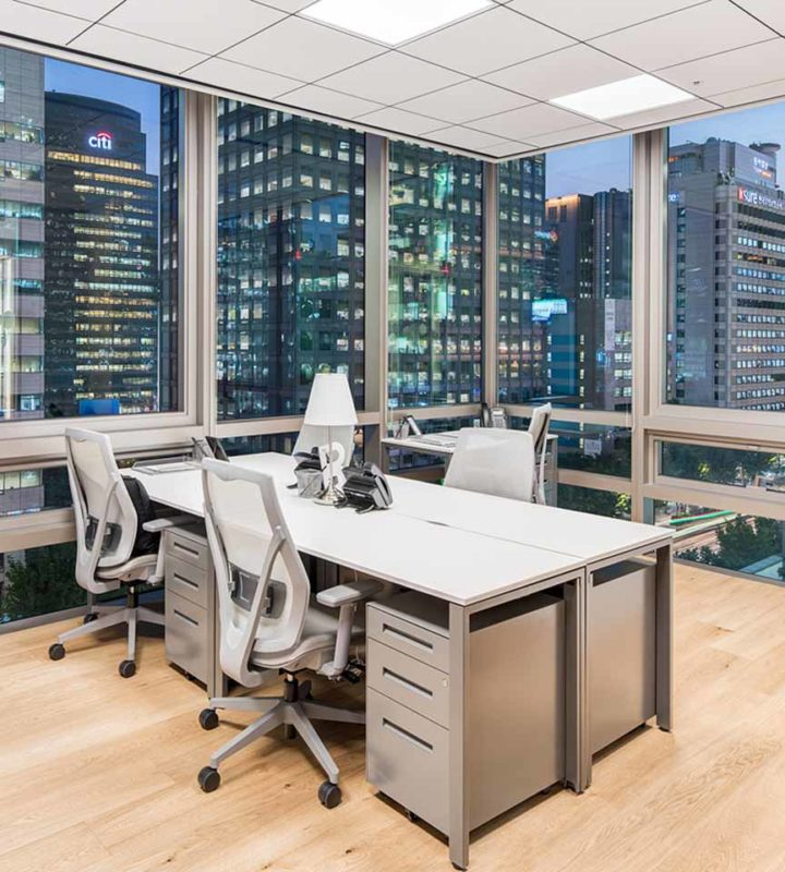 your own office space with flexible contract