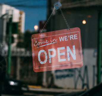 Is there room for offline shops in an online society?
