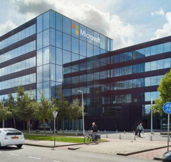 Spaces en Microsoft Nederland samen op Schiphol