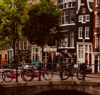 Why the Amsterdam canals have always been a great place to work
