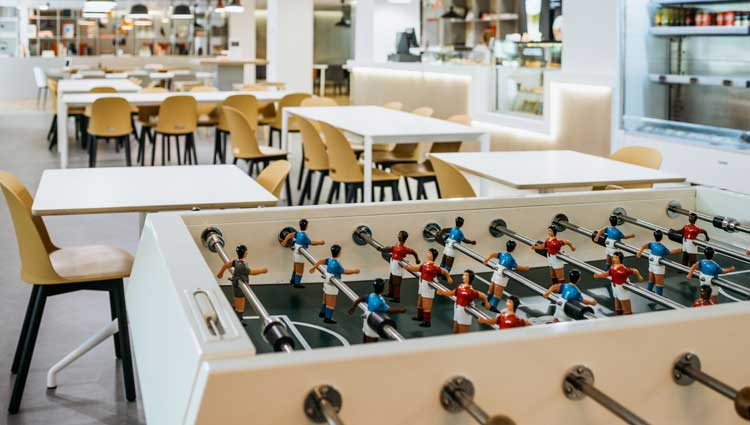 Spaces Foosball Tournament