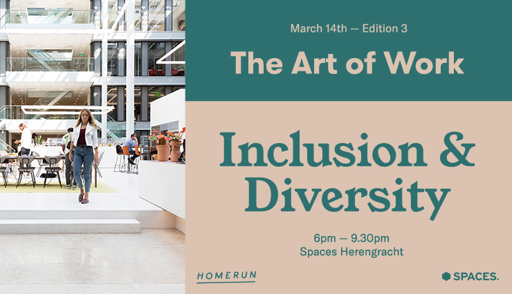 Art of work by Spaces and homerun - volume 3 - inclusion and diversity