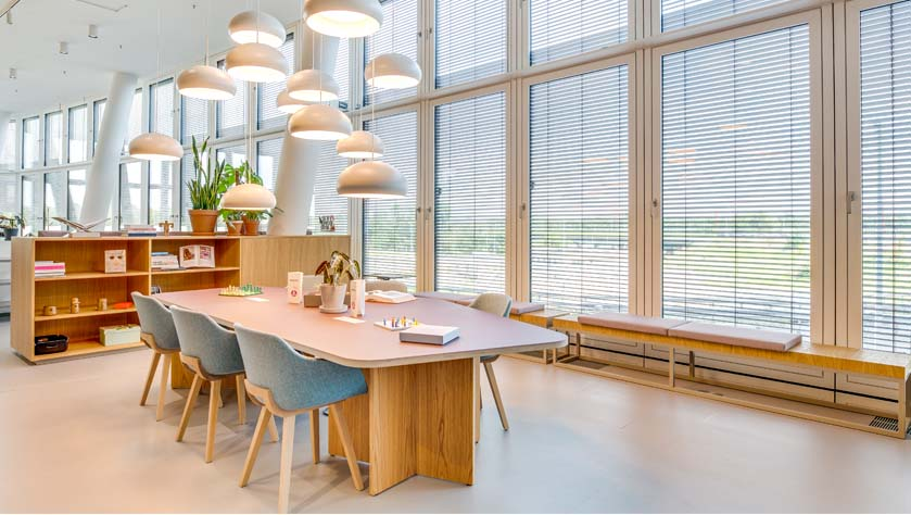 Spaces Orbi Tower, coworking offices in vienna that won the office of the year award
