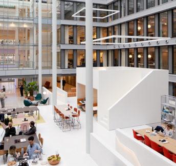 Cómo el diseño de una oficina puede aumentar la productividad