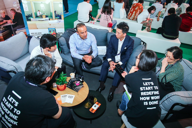 people talking Spaces BC 4YFN Shanghai 2019