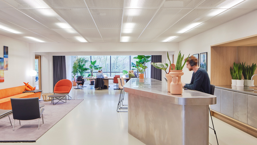 Flexible workspace in Amsterdam Amstel